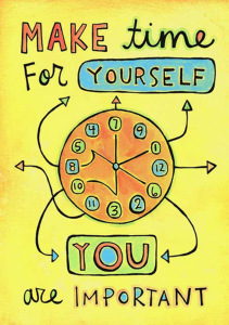 Self care for support people