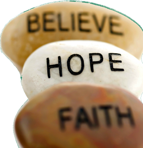 believe hope faith